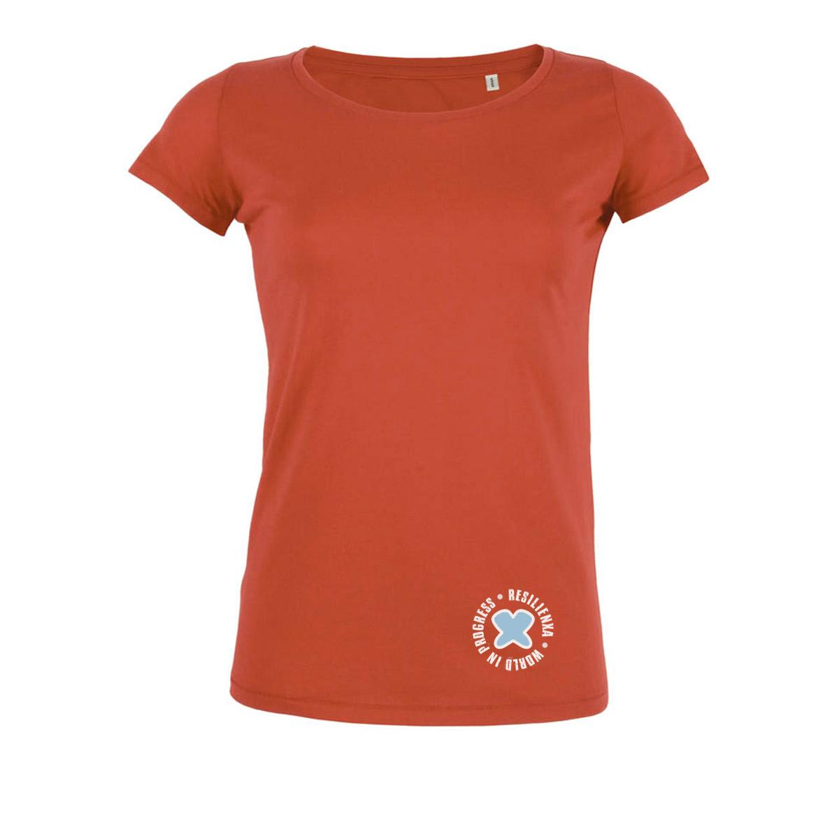 Tshirt-Donna-Orange