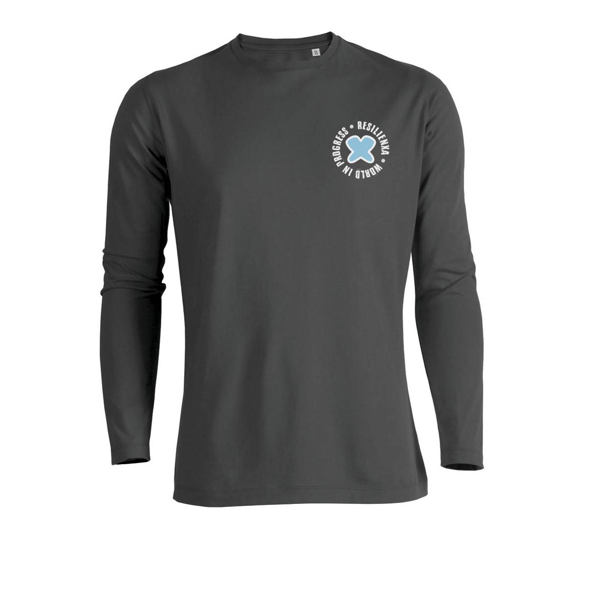 Tshirt-ManicaLunga-Anthracite