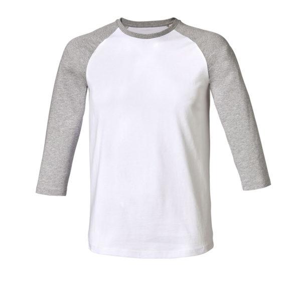 R805-tshirt-unisex-3quarti-white-grey
