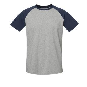 R809-tshirt-unisex-raglan-grey-navy